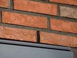 Voegrooster kunststof grijs 5cm hoog_