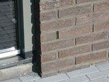Voegrooster kunststof zwart 6cm hoog_