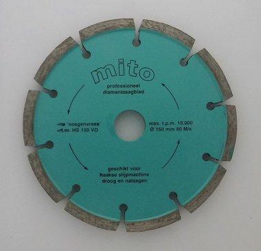 Voegenfrees 150 x 6,4 mm