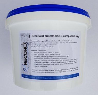 Ankermortel 1 component 5 kg