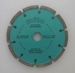 Voegenfrees 150 x 8 mm